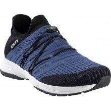 UYN Free Flow Tune (Merinowolle/Knit) blau/schwarz Sneaker-Laufschuhe Herren