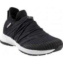 UYN Free Flow Tune (Merinowolle/Knit) schwarz/carbongrau Sneaker-Laufschuhe Herren