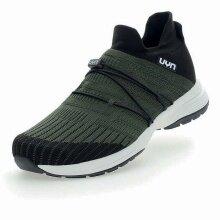 UYN Free Flow Tune (Merinowolle/Knit) armeegrün Sneaker-Laufschuhe Herren