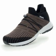 UYN Free Flow Tune (Merinowolle/Knit) braun Sneaker-Laufschuhe Herren