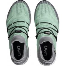 UYN Free Flow Tune (Merinowolle/Knit) mintgrün/silber Sneaker-Laufschuhe Damen