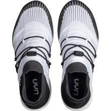 UYN Free Flow Tune (Merinowolle/Knit) weiss/grau Sneaker-Laufschuhe Damen