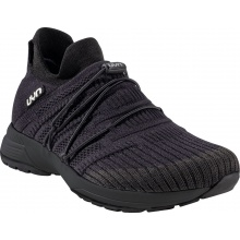 UYN Free Flow Tune (Merinowolle/Knit) schwarz Sneaker-Laufschuhe Herren