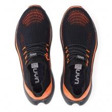 UYN City Running (Natex) schwarz/orange Sneaker-Laufschuhe Herren