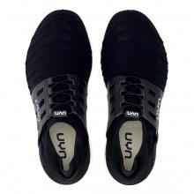 UYN 3D Ribs Tune (Natex) schwarz/carbongrau Sneaker-Laufschuhe Herren