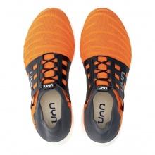 UYN 3D Ribs Tune (Natex) orange/schwarz Sneaker-Laufschuhe Herren