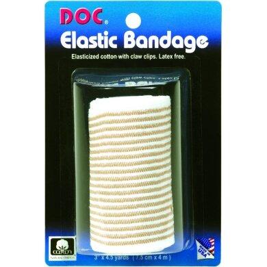 Unique elastische Baumwoll-Bandage weiss