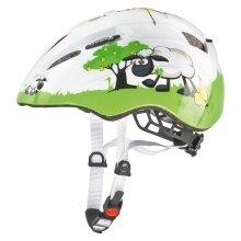 uvex Fahrradhelm Kid 2 Dolly/Schaf weiss/grün