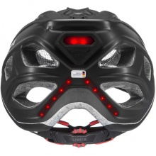 uvex Fahrradhelm city light anthrazit