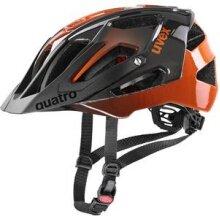 uvex Fahrradhelm quatro titan/orange
