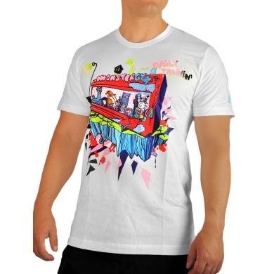 adidas Tshirt Monster Gym weiss Herren