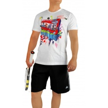 adidas Tshirt Monster Gym weiss Herren