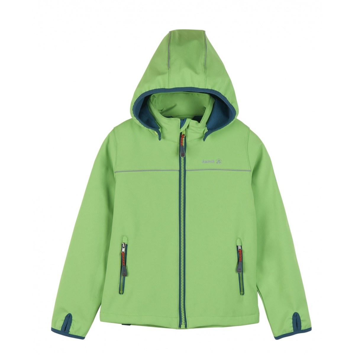 f61f397129 Kamik Softshelljacke Jarvis mit Magic Oberfläche lime Kinder online ...