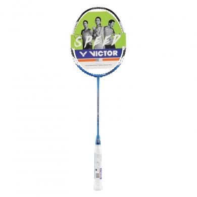 Victor Brave Sword 12 blau Badmintonschläger - unbesaitet -