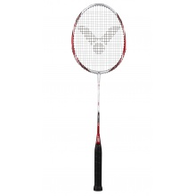 Victor Atomos 500 rot/weiss Badmintonschläger - besaitet -