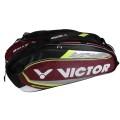 Victor Racketbag BR9207D burgund 12er