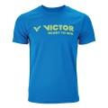 Victor T-Shirt 6673 blau Herren