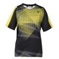 Victor T-Shirt T-6002EC schwarz/gelb Herren