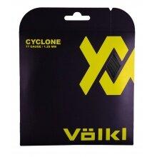 Völkl Tennissaite Cyclone (Haltbarkeit+Spin) schwarz 12m Set