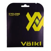 Völkl Tennissaite Cyclone (Haltbarkeit+Spin) gelb 12m Set