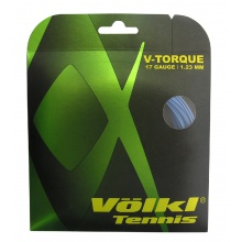 Besaitung mit Völkl V-Torque blau