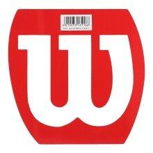 Wilson Logoschablone Badminton/Squash rot
