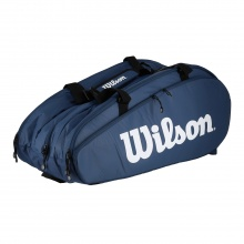 Wilson Racketbag Tour 3 2020 navy/weiss 15er