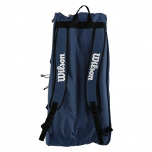 Wilson Racketbag Tour 3 2019 navy/weiss 15er