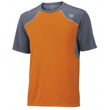 Wilson Tshirt Well Equipped orange/grau Herren