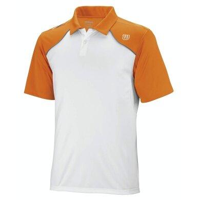 Wilson Polo Well Equipped weiss/orange Herren