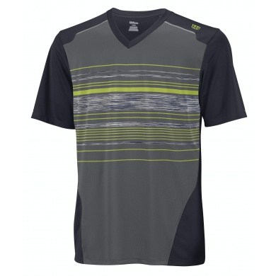 Wilson Tshirt Specialist Stripe graphite Boys (Größe 140)