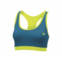 Wilson Sports Bra Rush Reversible solar 2015 lime/ultramarine