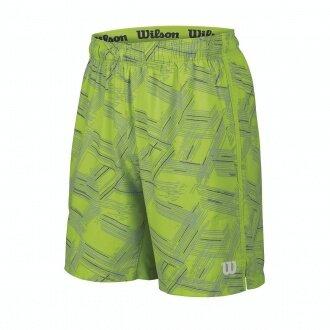 Wilson Short Summer Print 8 2016 grün Herren