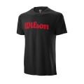 Wilson Tshirt Script Cotton 2019 schwarz Herren