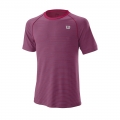 Wilson Tshirt Training Crew 2019 magenta Herren
