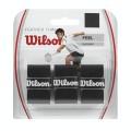 Wilson Featherthin Overgrip Badminton 3er schwarz
