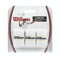 Wilson Pro Overgrip Badminton 3er weiss