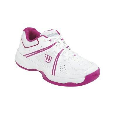 Wilson NVision Envy 2015 weiss/pink Tennisschuhe Kinder