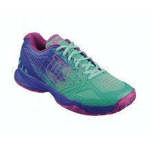 Wilson KAOS Comp 2016 aquagreen Tennisschuhe Damen