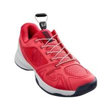 Wilson Rush Pro QL (Quicklace) rot Allcourt Tennisschuhe Kinder