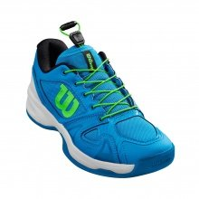 Wilson Rush Pro QL Carpet blau Indoor-Tennisschuhe Kinder