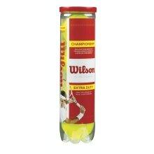 Wilson Championship Extra Duty Tennisbälle 4er