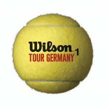 Wilson Tour Germany Tennisbälle 4er Dose