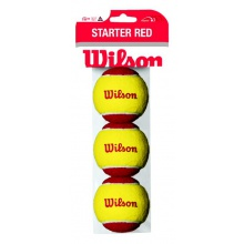 Wilson Stage 3 Starter Red Methodikbälle 3er