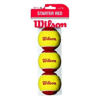 Wilson Methodikbälle Stage 3 Starter Red Beutel 3er