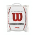 Wilson Overgrip Pro Perforated 0.55mm weiss 12er