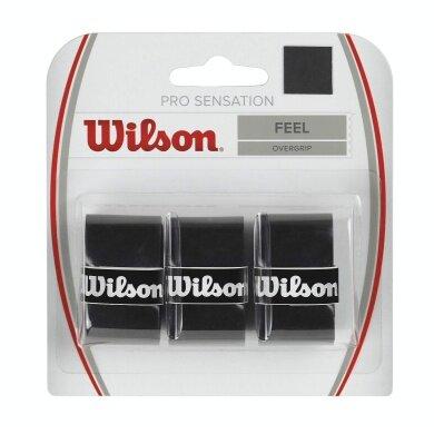 Wilson Pro Overgrip Sensation 3er schwarz