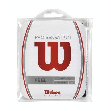 Wilson Pro Overgrip Sensation 12er schwarz