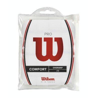 Wilson Pro Overgrip 12er weiss