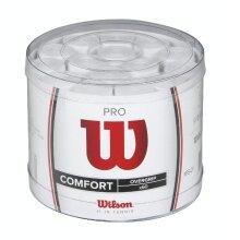 Wilson Overgrip Pro 0.6mm weiss 60er Box